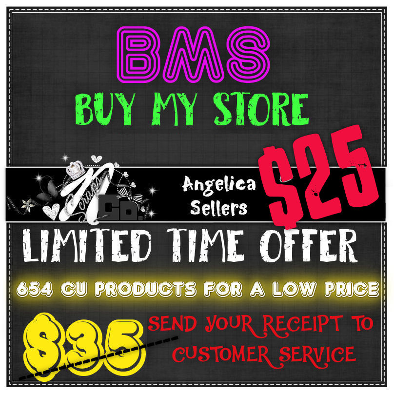 ! LIMITED TIME BMS OFFER ANGELICA SELLERS TEMPLATES AND ELEMS